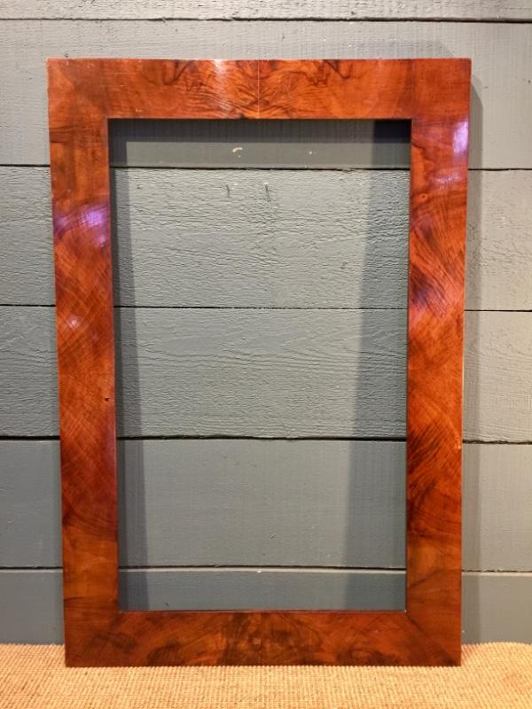 Mahogany Frame 19th Century - Natural wood frames 19th C - Frames ...